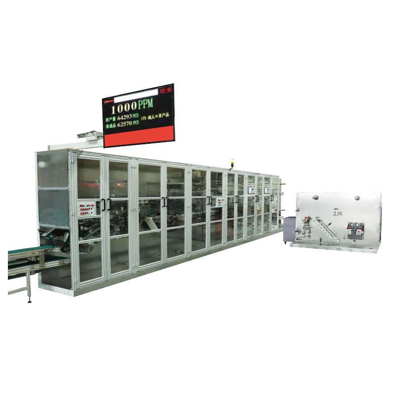 CSG-PM1000 High Speed Disposable Face Mask Machine